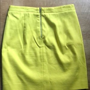 Banana Republic Skirts - Banana republic yellow pencil skirt